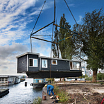 De Ceuvel houseboat installation