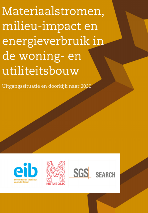 Assessing materials consumed by building in the Netherlands