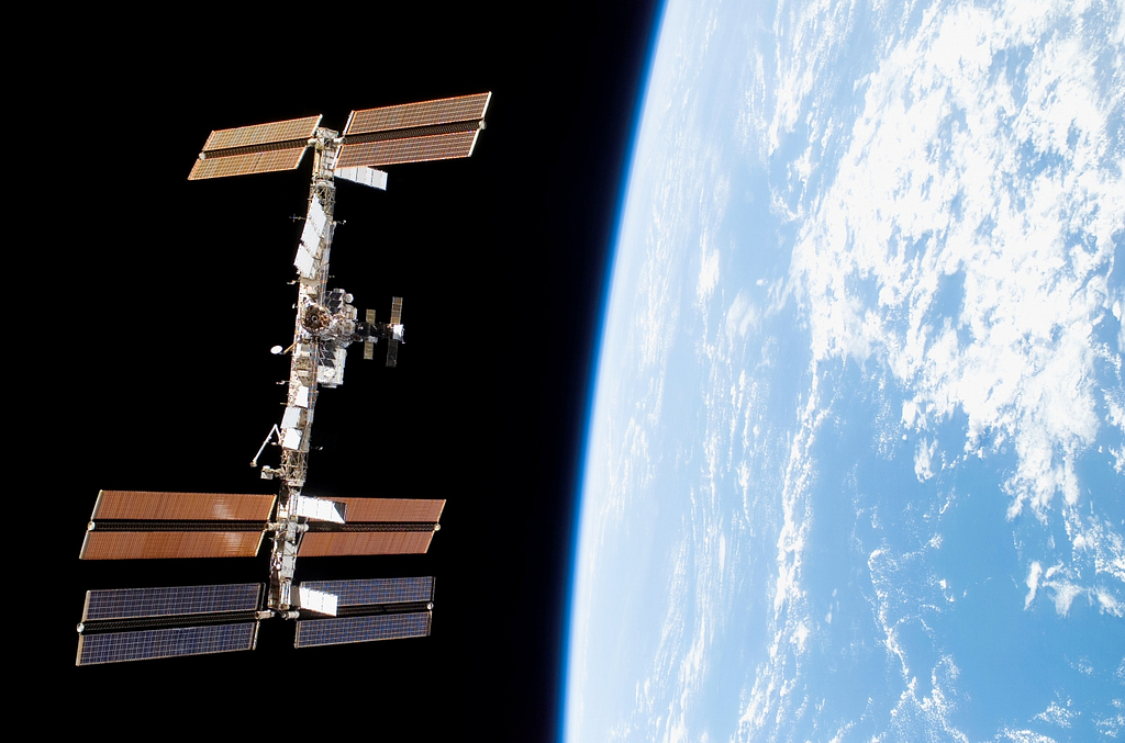 International Space Station circular solutions