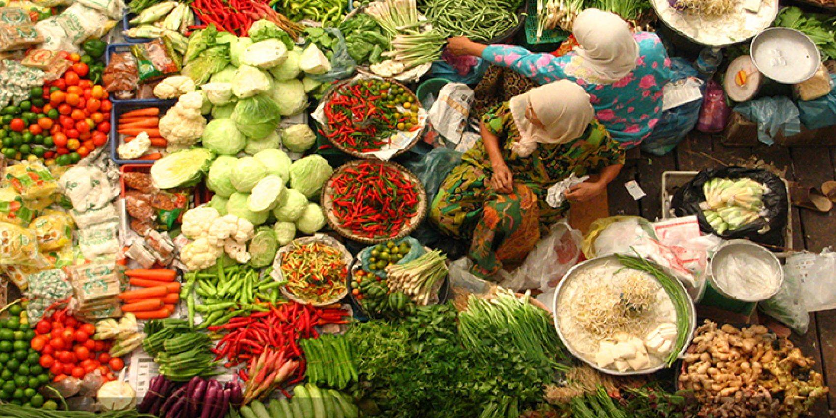 Central market in Kota Bharu