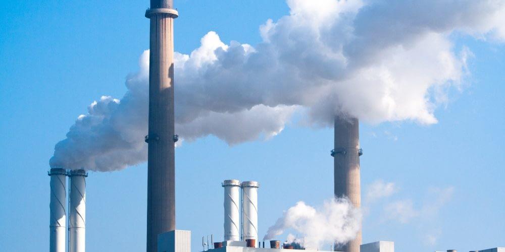 9124490 - pipe factory smoke emission