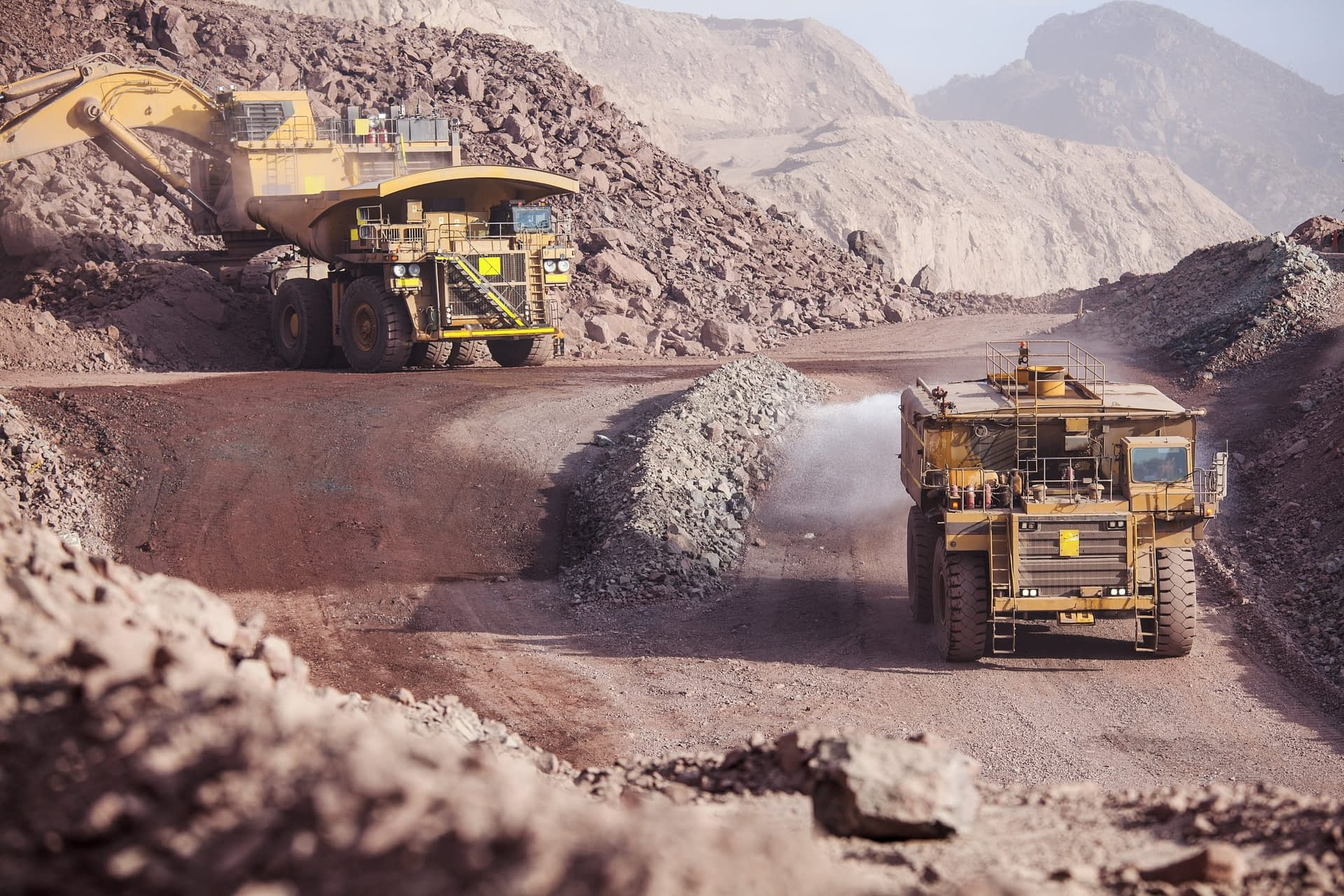 Mining activities can be connected with human rights violations and cause environmental damage.