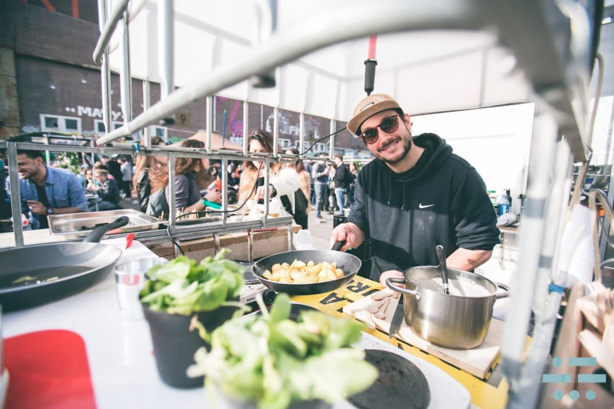 DGTL has already taken big steps to reduce its carbon emissions, like in 2016 when they made their entire festival grounds vegetarian. Photo by DGTL